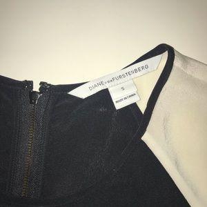 DVF Silk top
